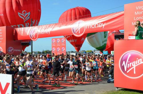 virgin london marathon charity run