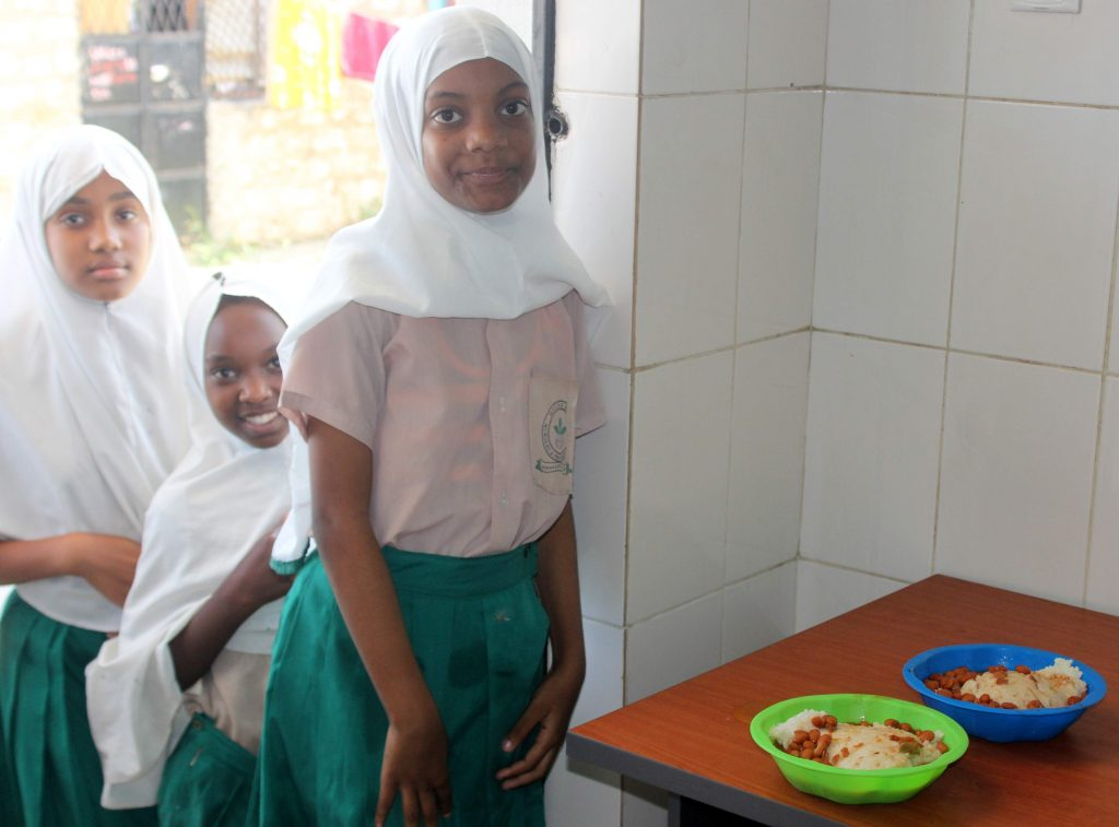 feeding programme in new school MSP