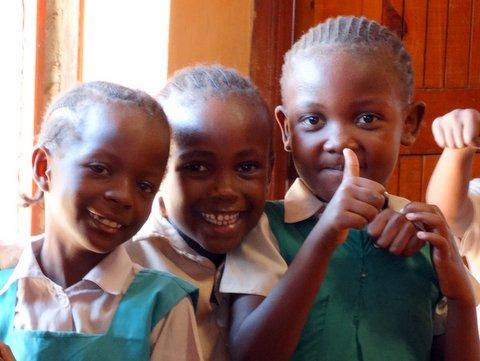 Girls at Miche Bora