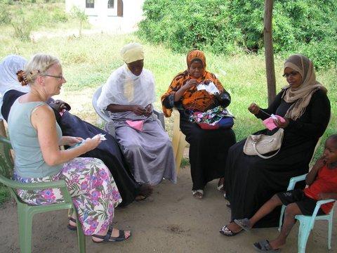 Training women in Mombasa