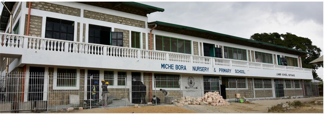 Miche Bora School March2021